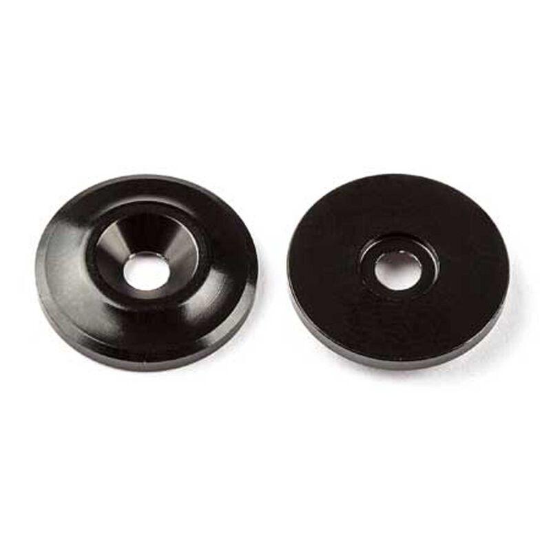 Factory Team Aluminum Wing Buttons (2)