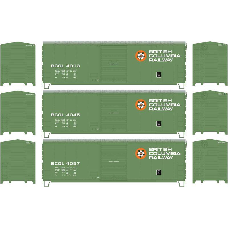 HO RTR 40' Modernized Box BCOL (3)