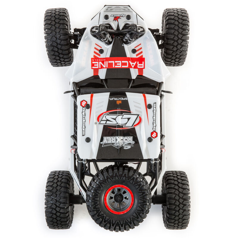1/6 Super Rock Rey 4WD Brushless Rock Racer RTR with AVC, Raceline
