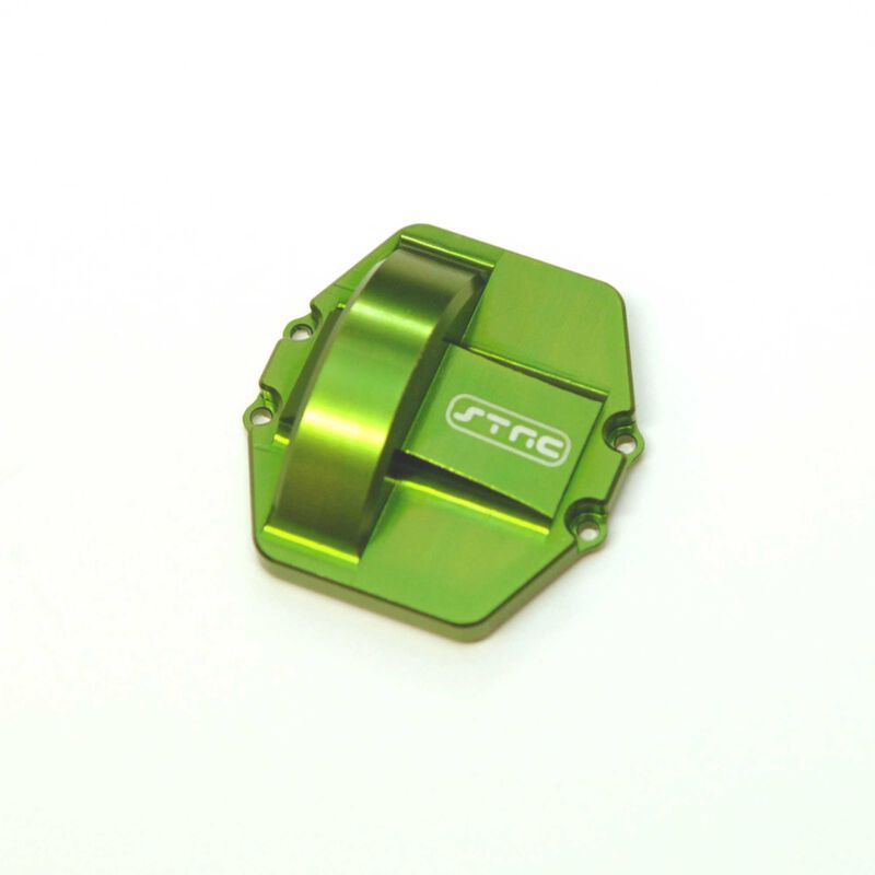 CNC Mach Alum Diff Cover (ver. 3)   Wraith Green