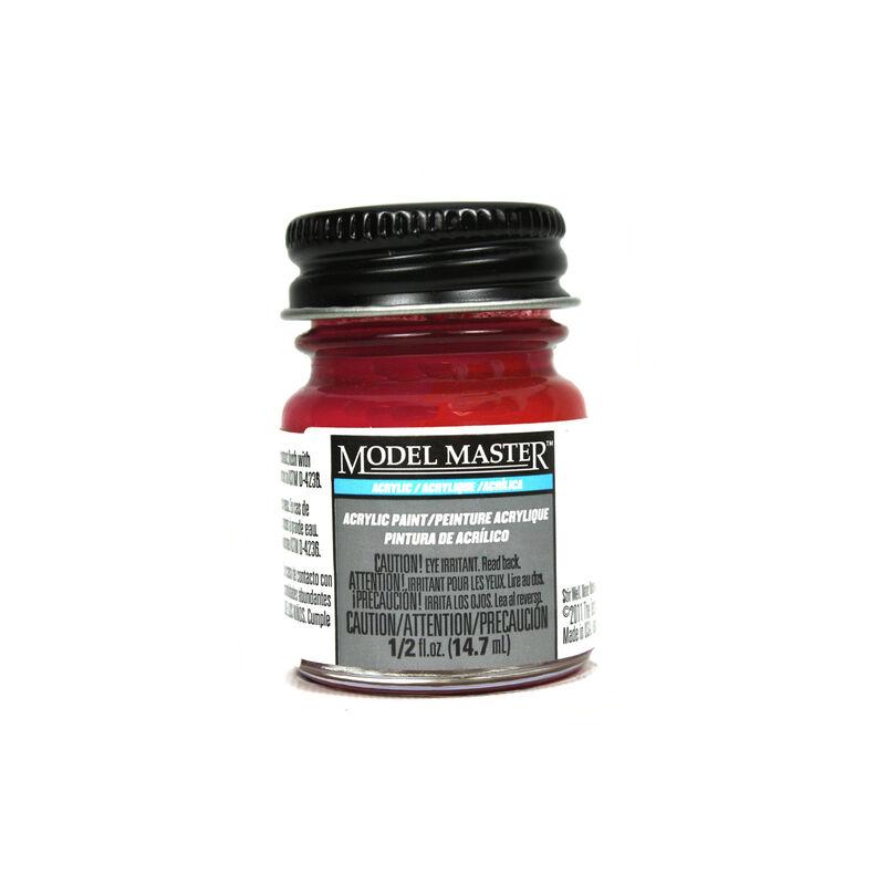 Acryl Flat 1/2oz Insignia Red