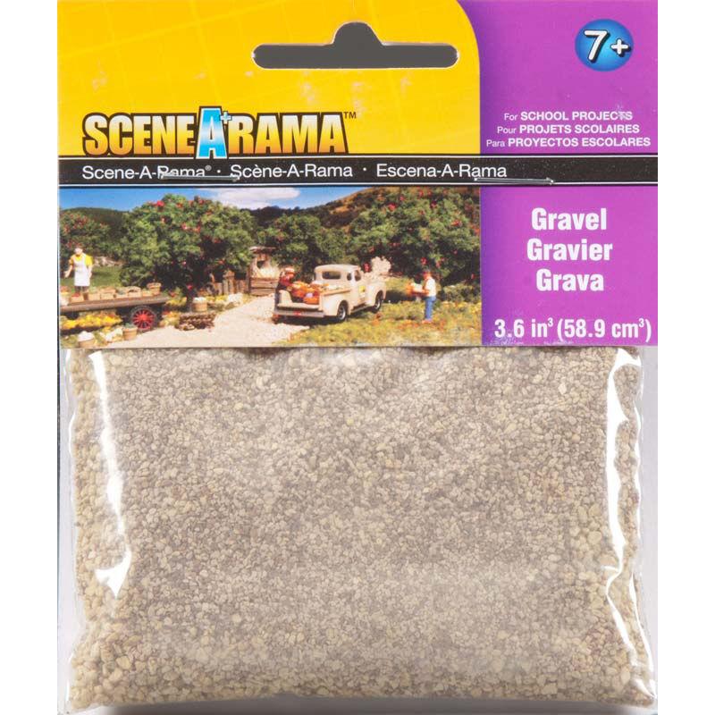 Scene-A-Rama Scenery Bags Gravel 2oz