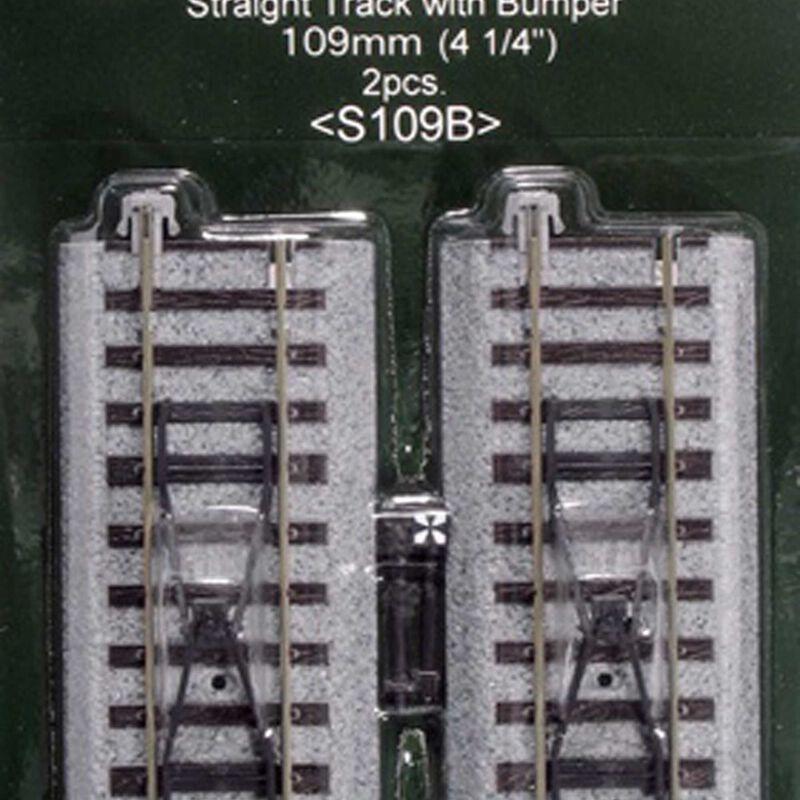 """HO 109mm 4-1/4"""" Straight Bumper (2)"""