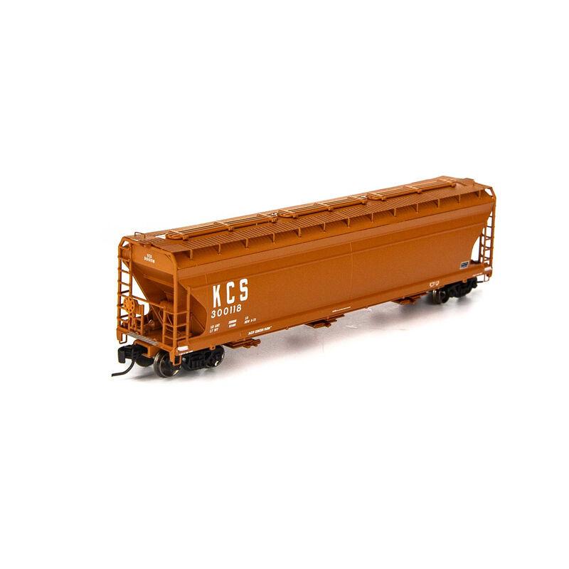 N ACF 4600 3-Bay Centerflow Hopper KCS #300118