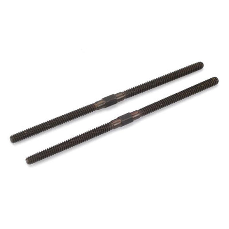 "Turnbuckles (2) 4-40, 2-5/8"" Long"