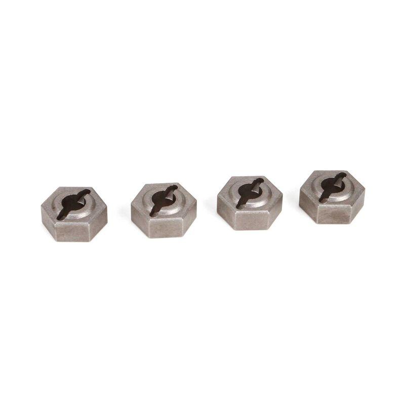 12mm Hex Set, Metal: Twin Hammers