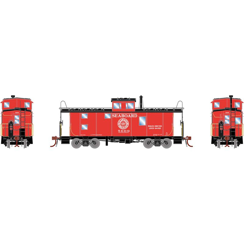 HO ICC Caboose with Lights & Sound, SAL #5669