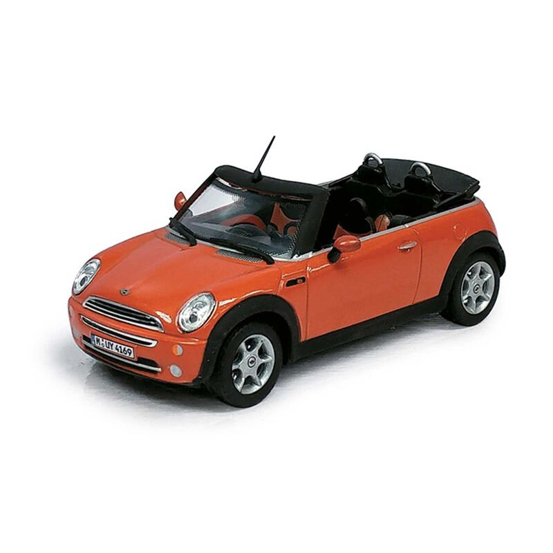 Cararama 1 43 New MINI car, Orange