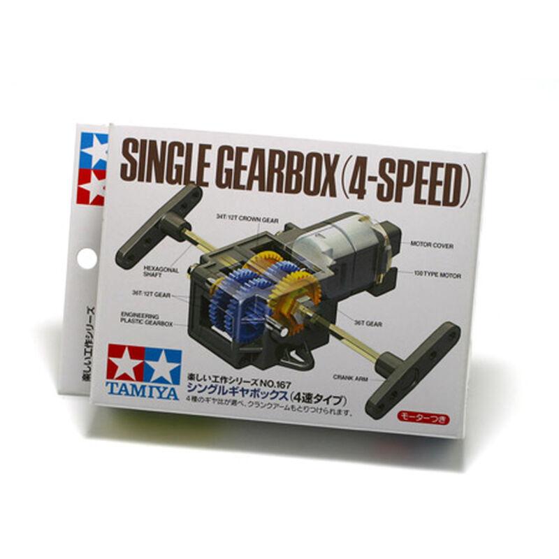 Single Gearbox, 4-Speed