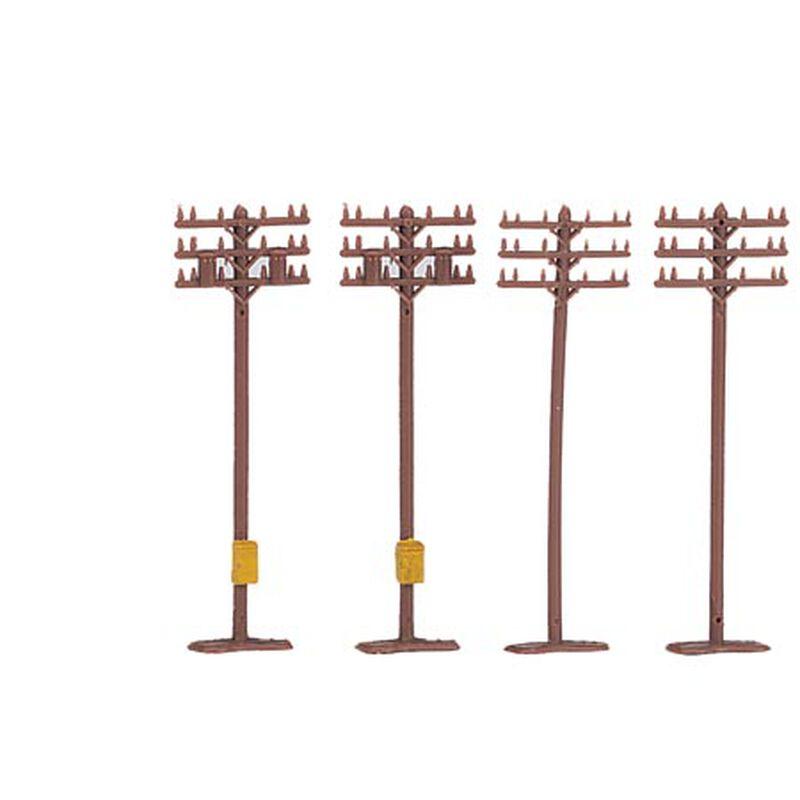 N Telephone Poles (12)
