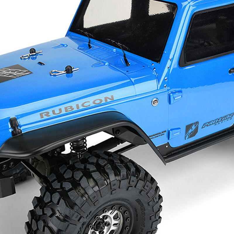 Clear Body, Jeep Wrangler Unlimited Rubicon: 1/10 TRX-4