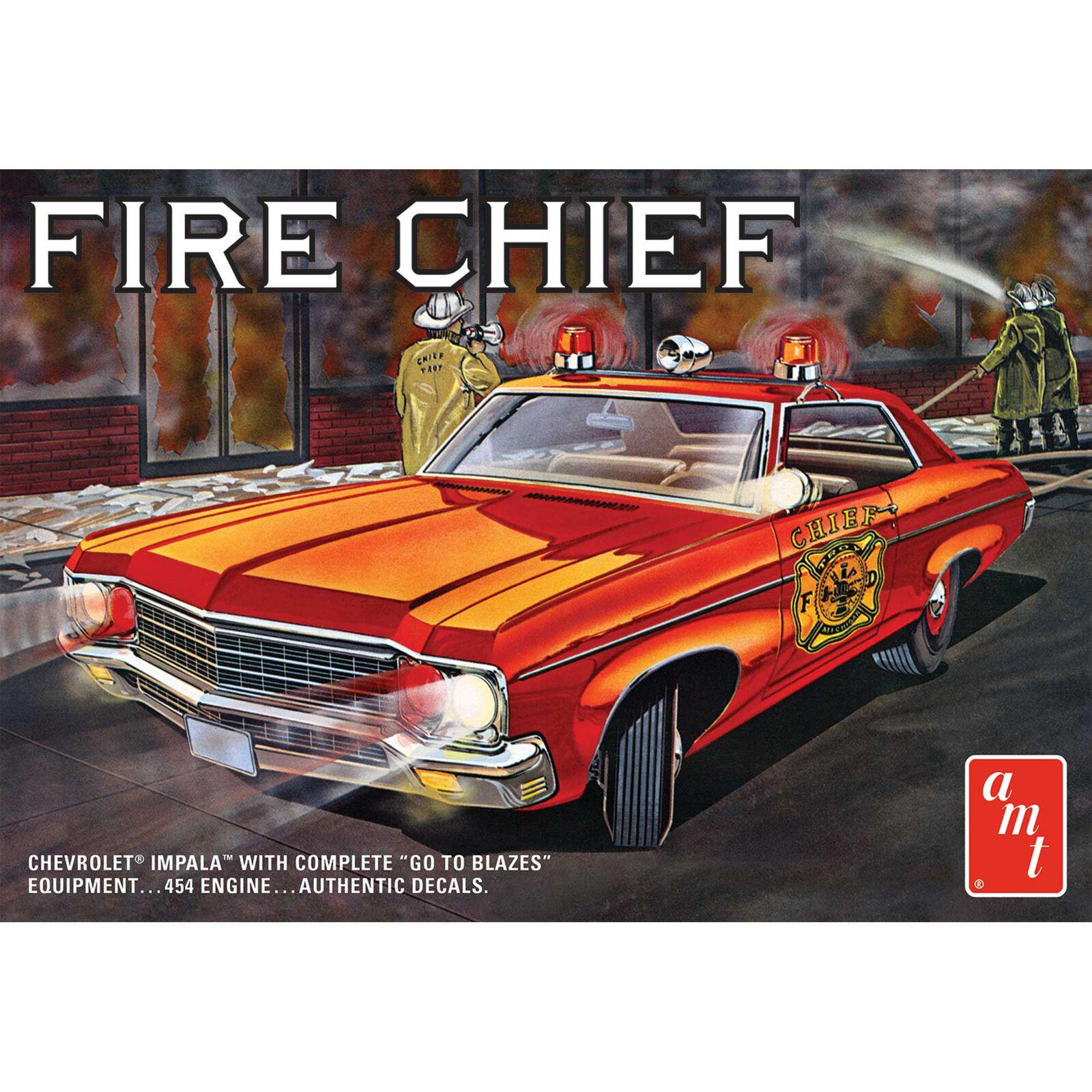 1/25 1970 Chevy Impala Fire Chief