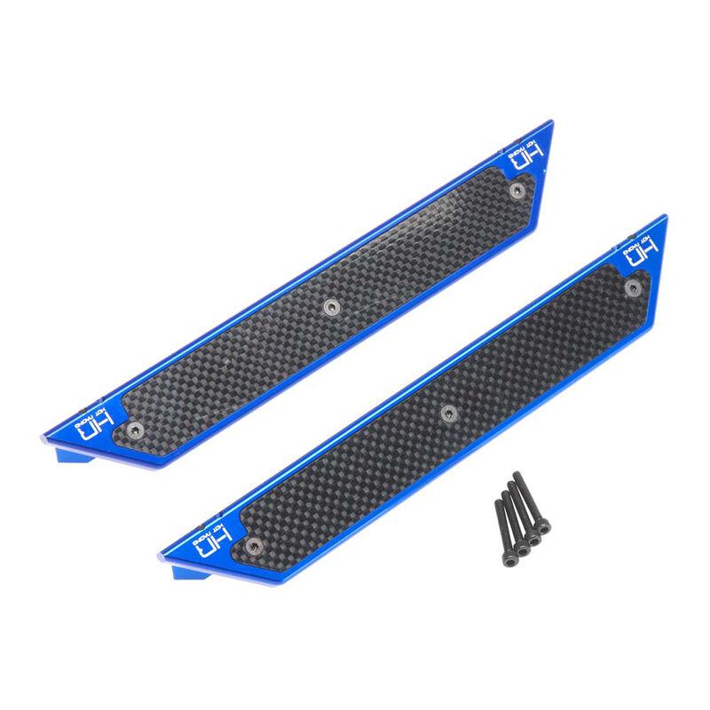 Aluminum Side Step Running Boards (2): X-Maxx