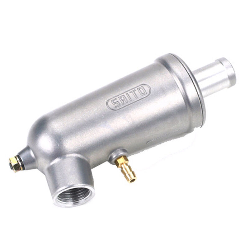 Muffler, 12mm Revised Cast: 91-100