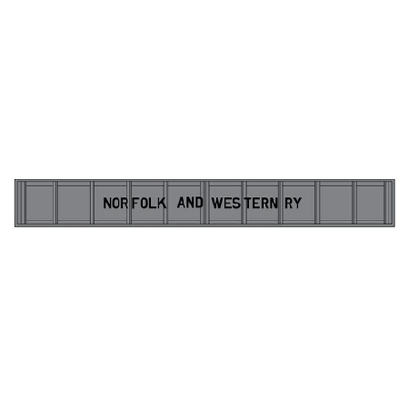 HO Code 100 Plate Girder Bridge, N&W