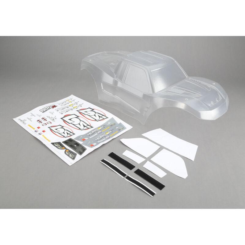 1/5 Clear Body with Sticker Set: MTXL