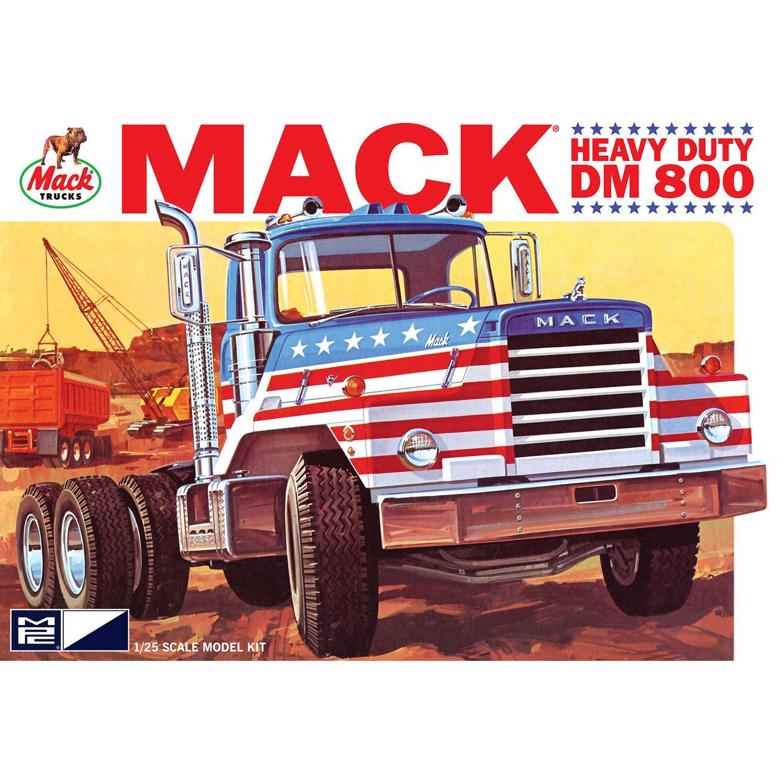 1/25 Mack DM800 Semi Tractor