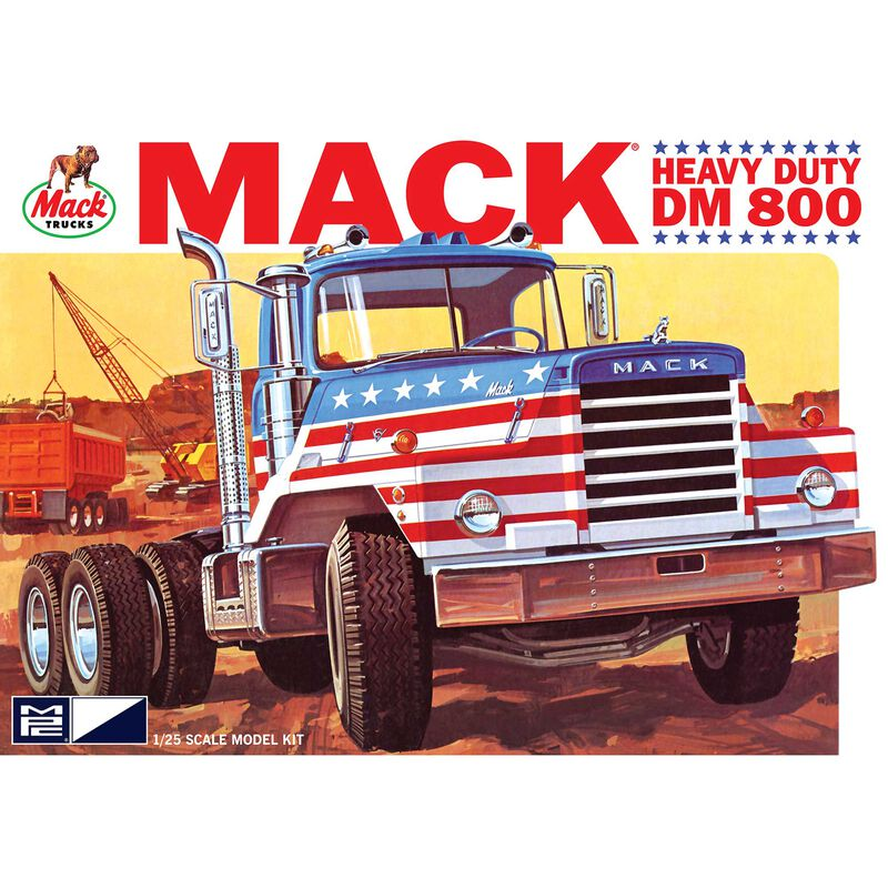 1 25 Mack DM800 Semi Tractor