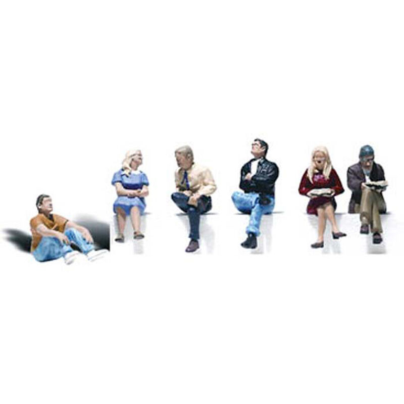 O People Sitting