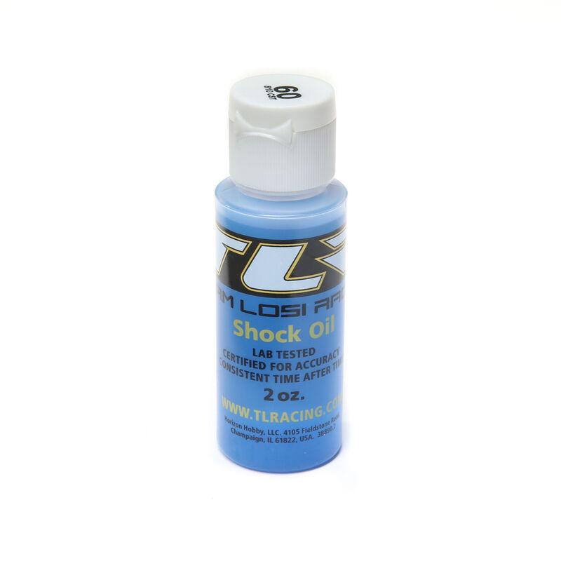 Silicone Shock Oil, 60wt, 2oz