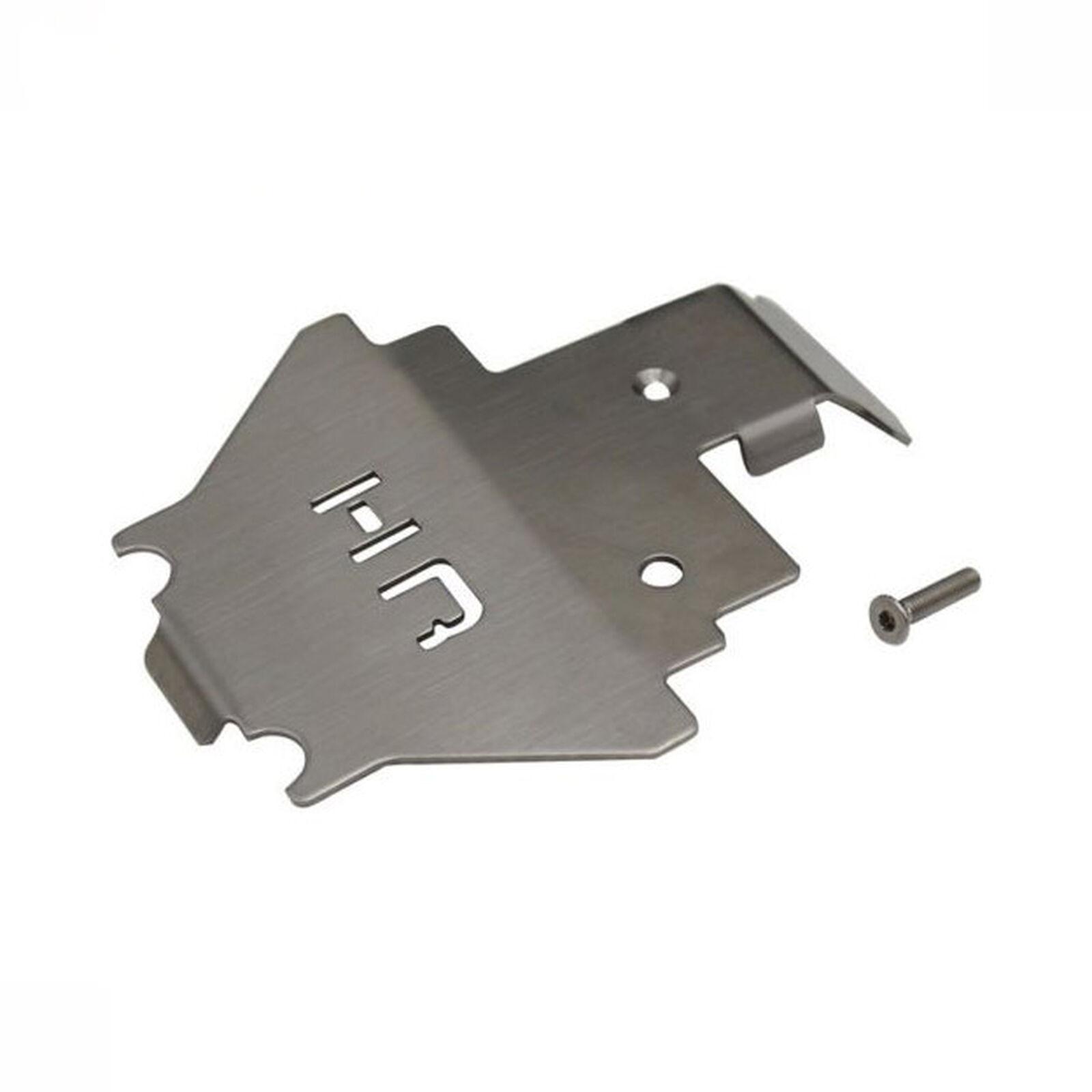 Stainless Armor Skid Plate Center: TRX 4