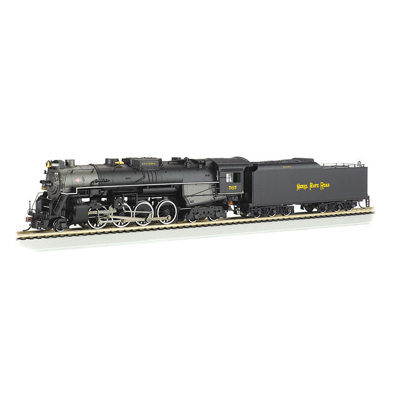 HO 2-8-4 w DCC & Sound Value NKP Railfan #765