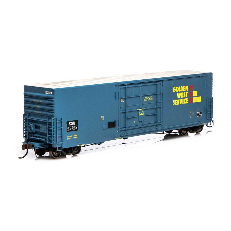 HO 50' PC&F SS Box w 14' Plug Door SSW GWS #23722