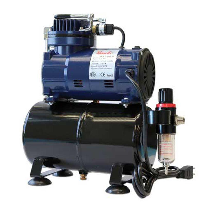 Diaphragm Compressor with Tank & Regulator
