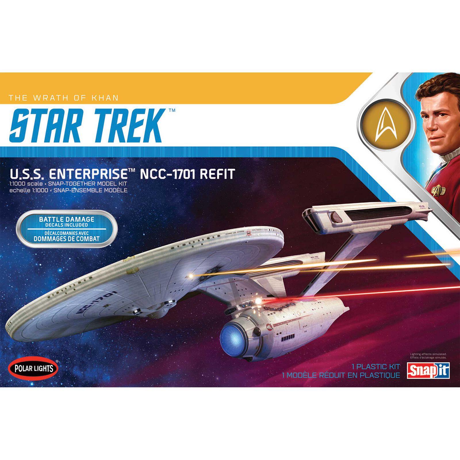 1/1000 Star Trek USS Enterprise Refit - Wrath of Khan