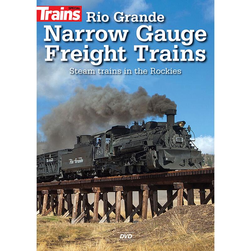 Rio Grande Narrow Gauge Freight Trains DVD