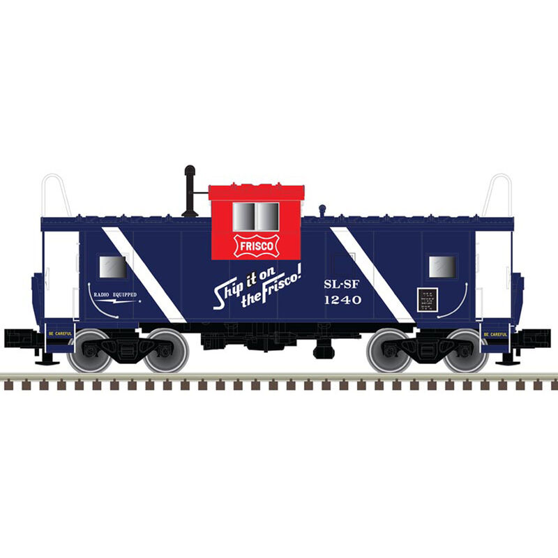 HO Extended Vision Caboose Frisco #1240