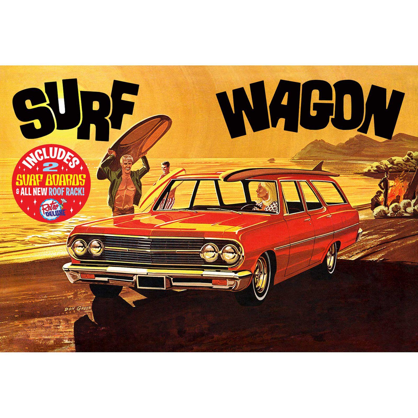 1/25 1965 Chevelle Surf Wagon, Model Kit