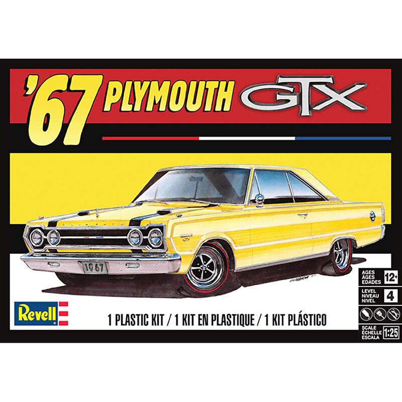 1 25 1967 Plymouth GTX