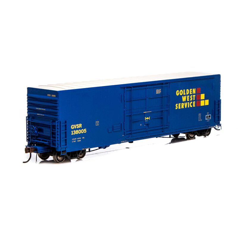 HO 50' PC&F SS Box w 14' Plug Door GWS #138005