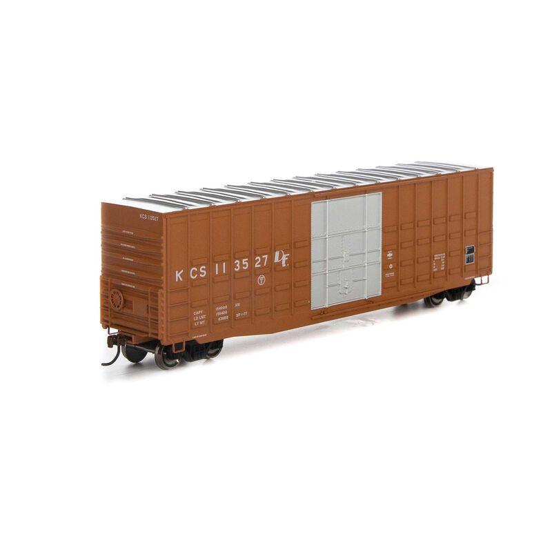 HO 50' Waffle HC Plug Door Box KCS #113527