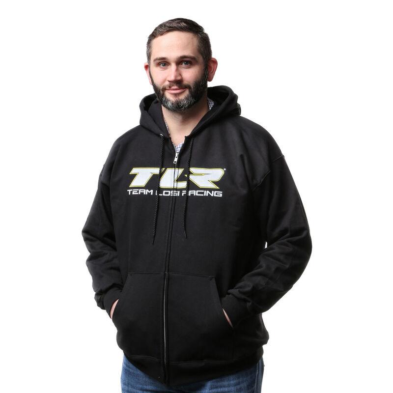 Zip Black Hoodie, 3X-Large
