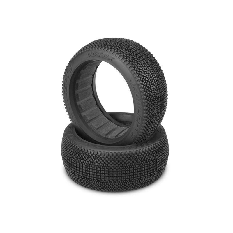 Detox Tire, Green (2): 1/8 Buggy