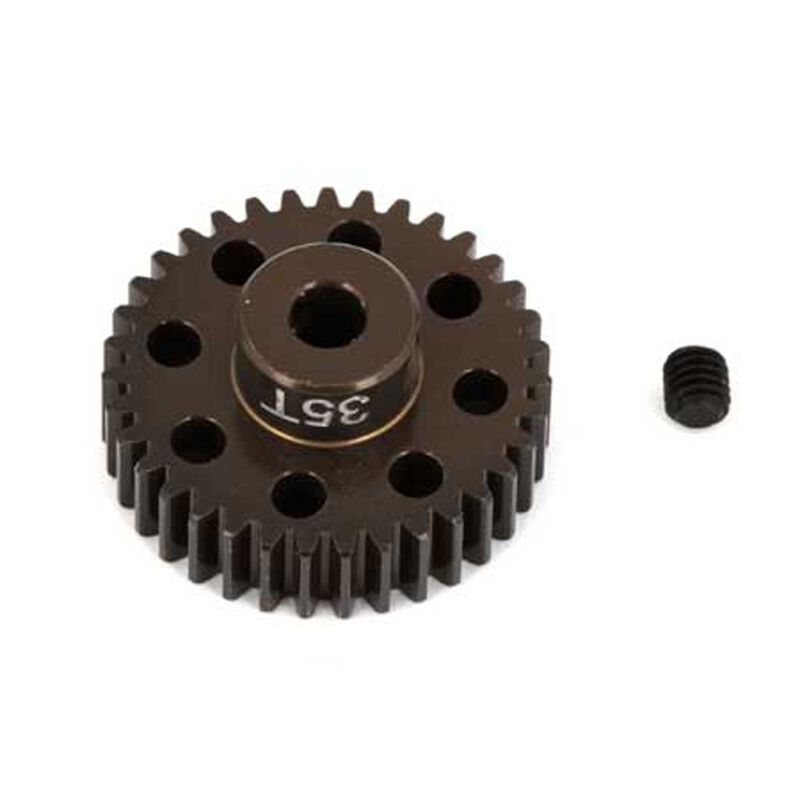 Factory Team Aluminum Pinion Gear, 32T, 48P, 1/8 shaft