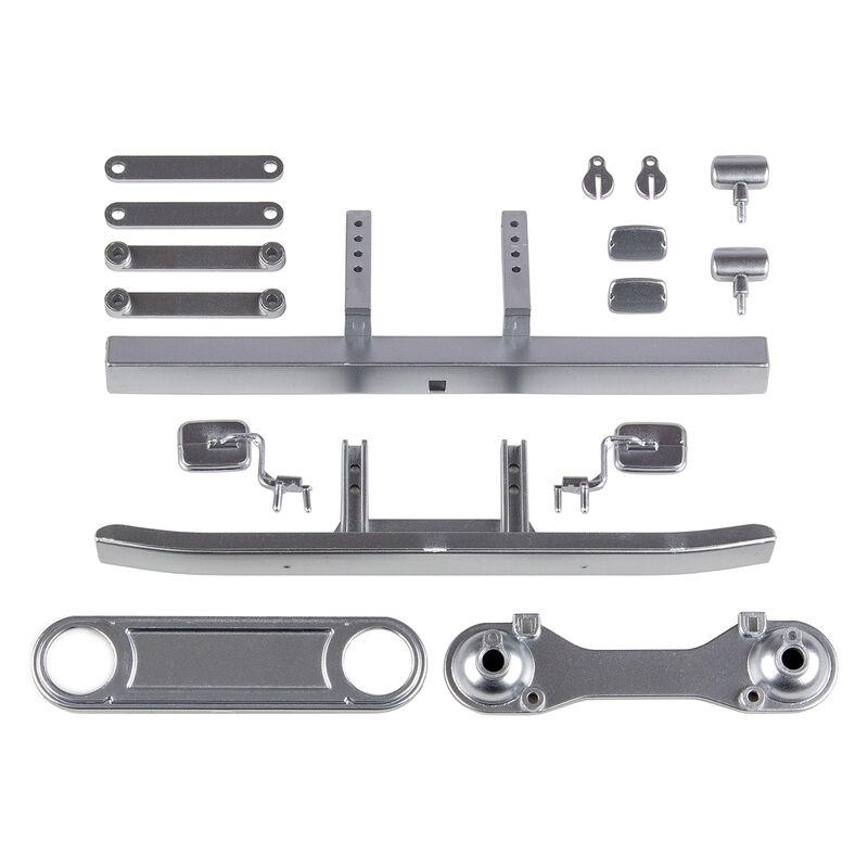 Toyota FJ45 Bumpers & Body Accessories, Satin Chrome: CR12