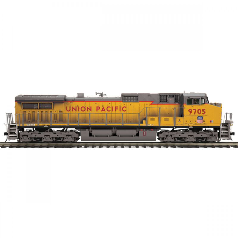 O Dash-9 with PS3 & Scale Wheels UP #9705