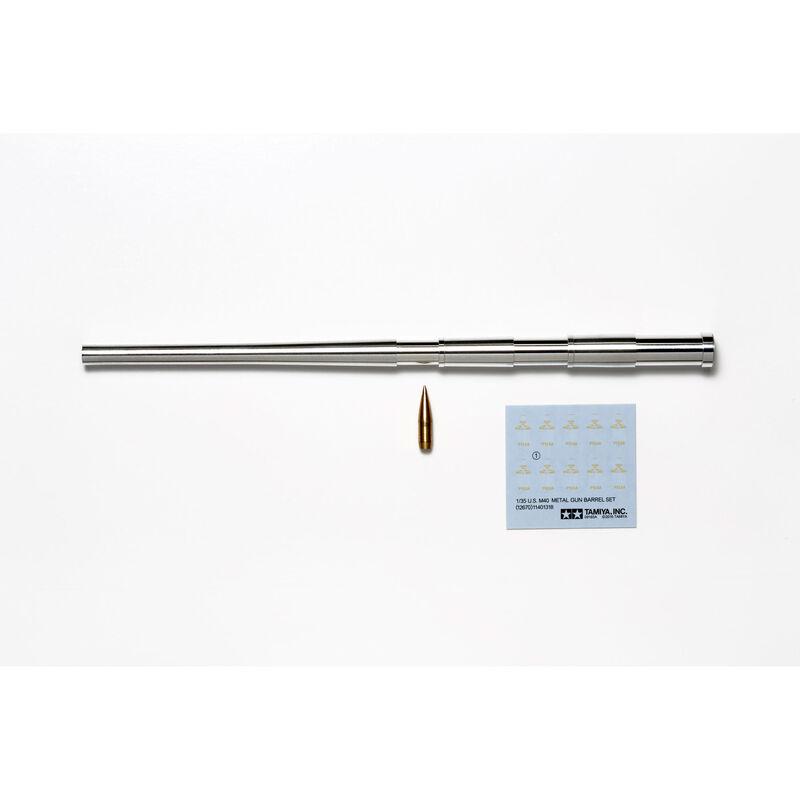 1 35 U.S. M40 Metal Gun Barrel Set