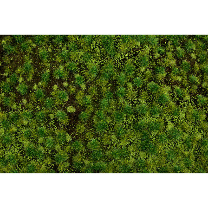 "11.75"" x 7.5"" Tufted Grass Mat Medium Green"