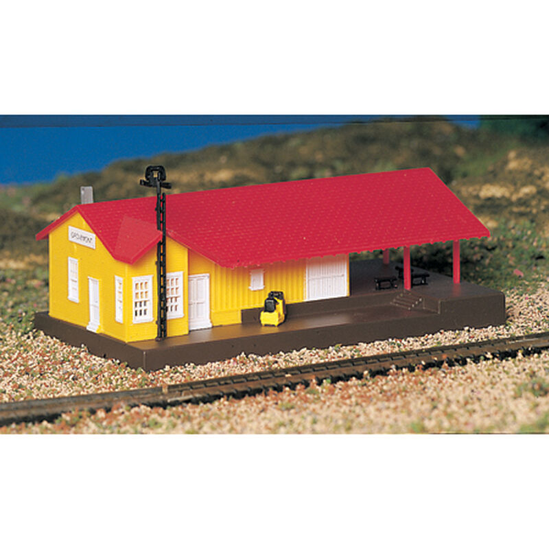 N Built Up Freight Station