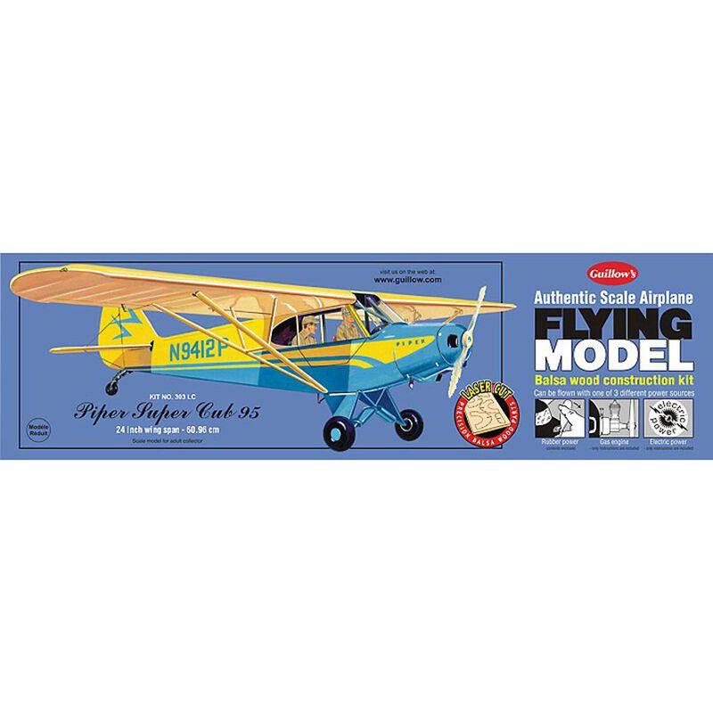 """Piper Cub 95 Laser Cut Kit, 24"""""""