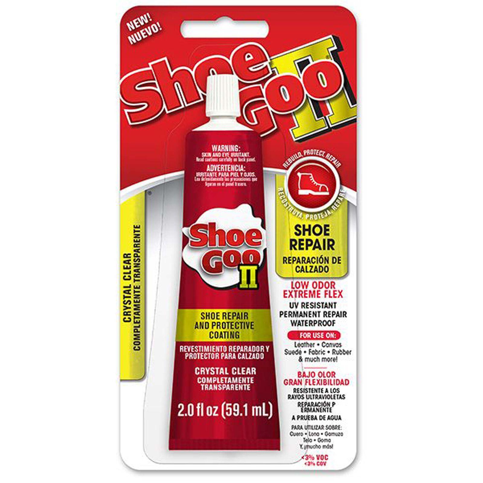 Shoe Goo II, Low Odor Clear, 2 oz.