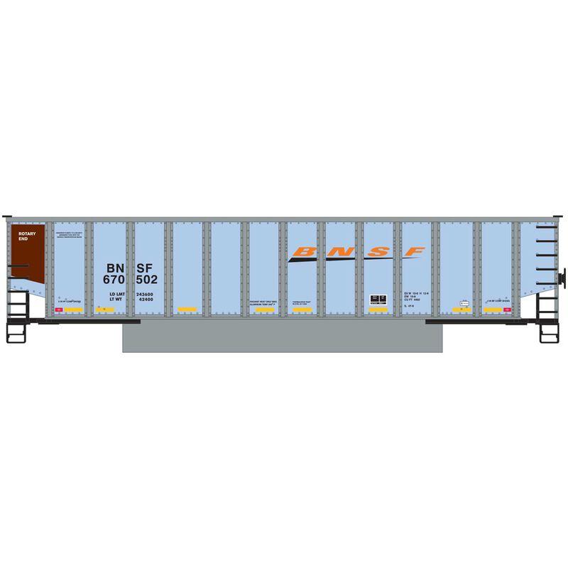 N Bethgon Coalporter with Load BNSF Wedge #4 (5)
