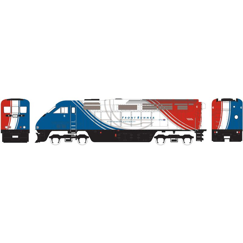 HO RTR F59PHI with DCC & Sound UTAX #6