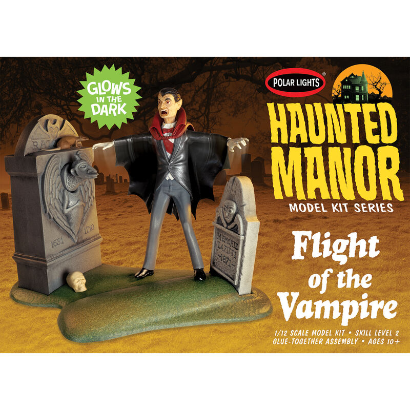 1/12 Haunted Manor Flight of the Vampire