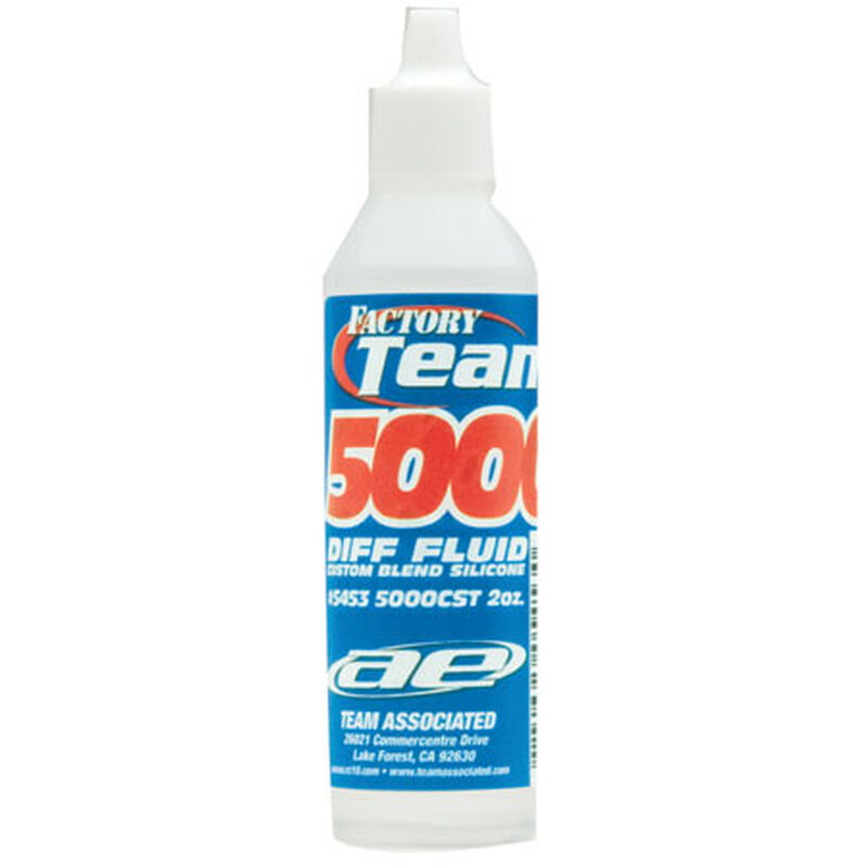 Factory Team Silicone Diff Fluid, 5000 cSt 2oz