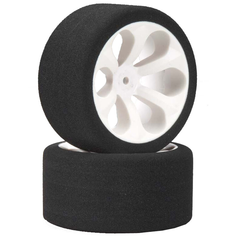 Rear Prism White Lo Profile Tire, Pink(2): Rust/Stamp VXL